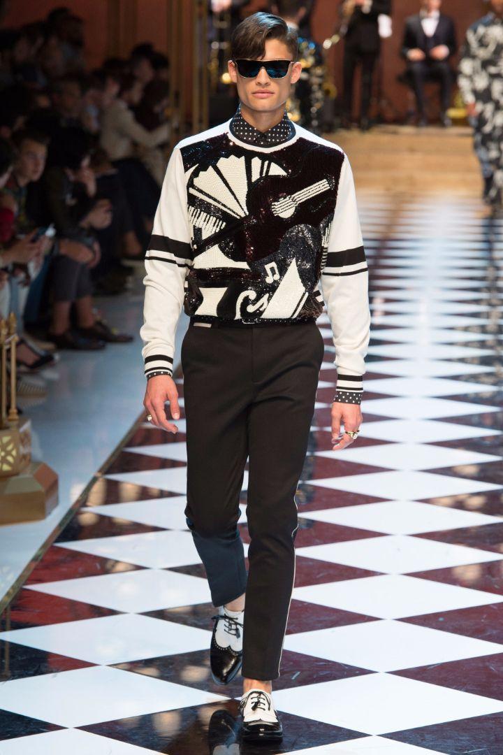 Dolce & Gabbana Menswear SS 2017 Milan (50)