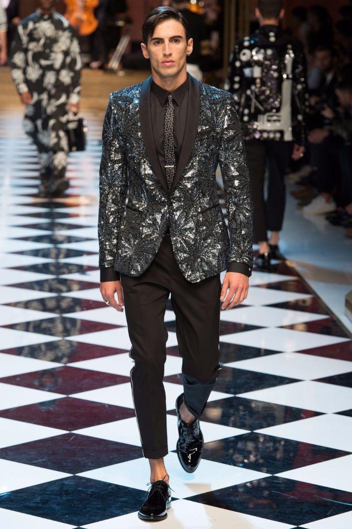 Dolce & Gabbana Menswear SS 2017 Milan (51)
