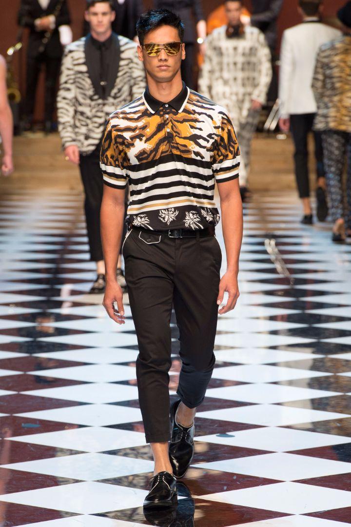 Dolce & Gabbana Menswear SS 2017 Milan (64)