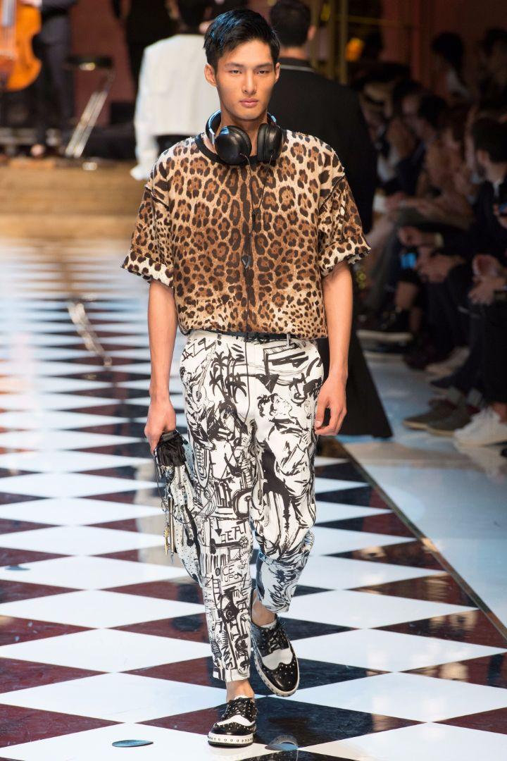 Dolce & Gabbana Menswear SS 2017 Milan (75)
