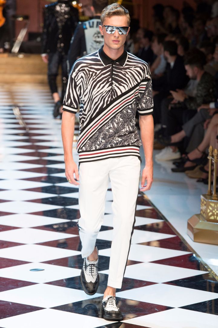Dolce & Gabbana Menswear SS 2017 Milan (81)