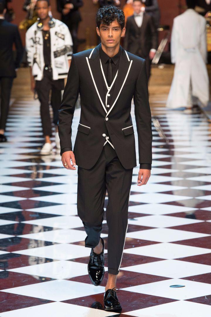 Dolce & Gabbana Menswear SS 2017 Milan (85)