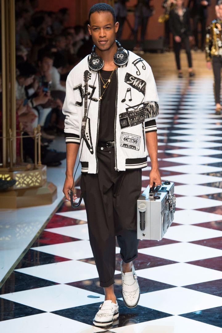 Dolce & Gabbana Menswear SS 2017 Milan (86)