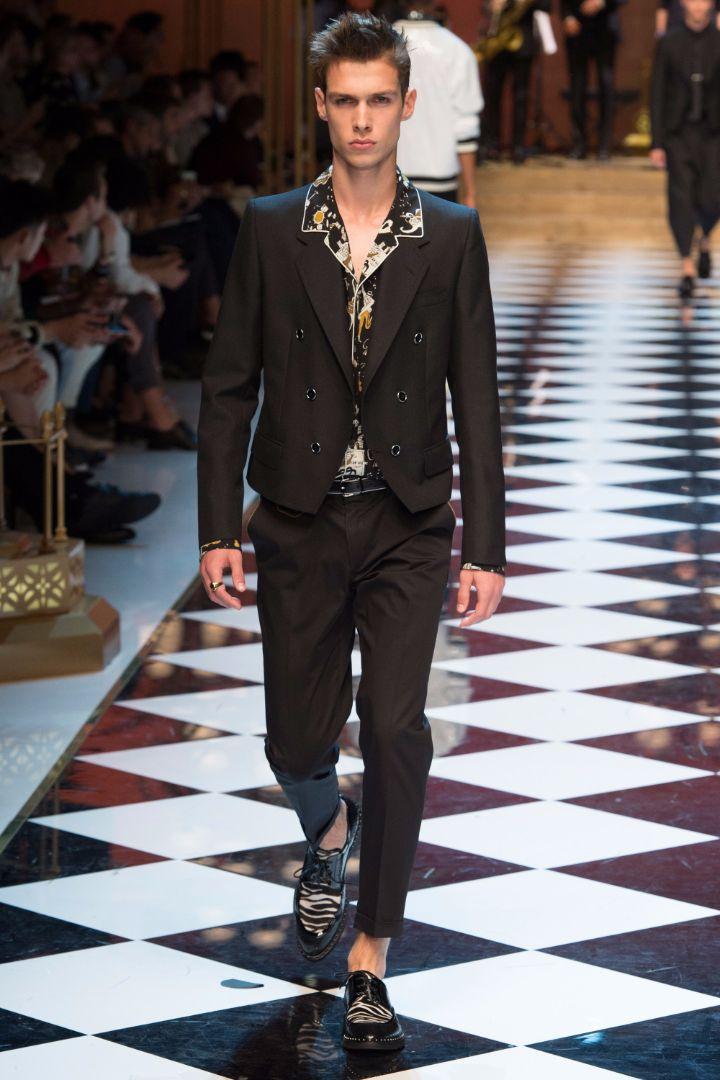 Dolce & Gabbana Menswear SS 2017 Milan (89)