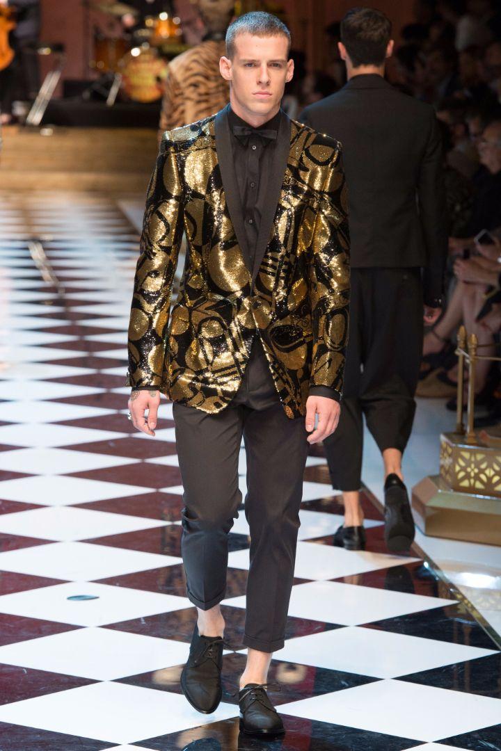 Dolce & Gabbana Menswear SS 2017 Milan (93)