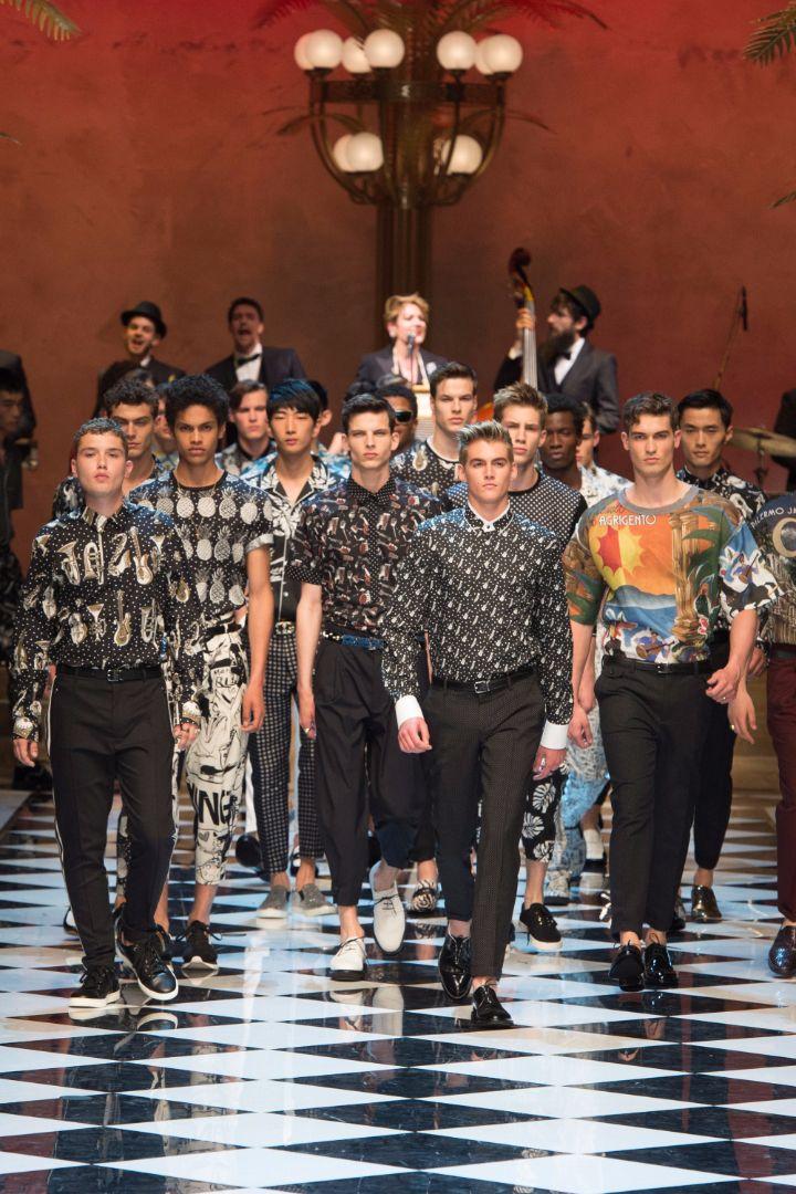 Dolce & Gabbana Menswear SS 2017 Milan (98)