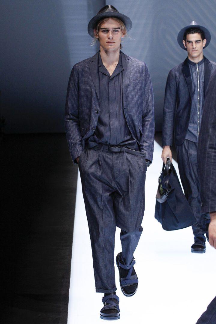 Emporio Armani Menswear SS 2017 Milan (10)