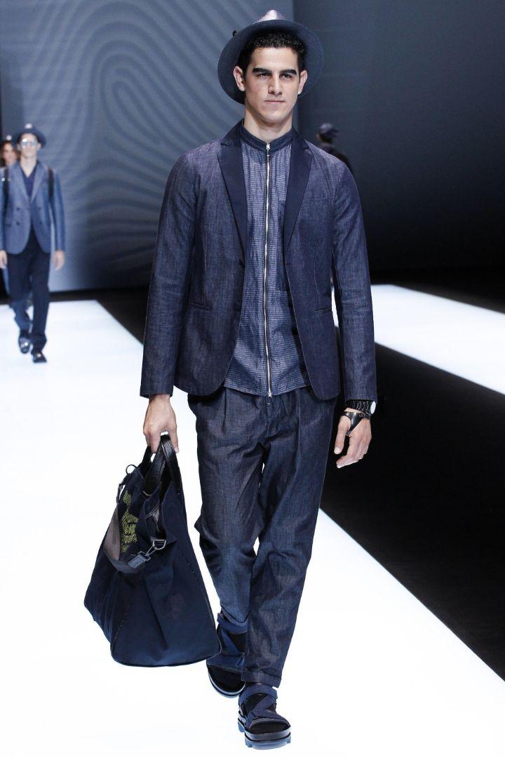 Emporio Armani Menswear SS 2017 Milan (11)