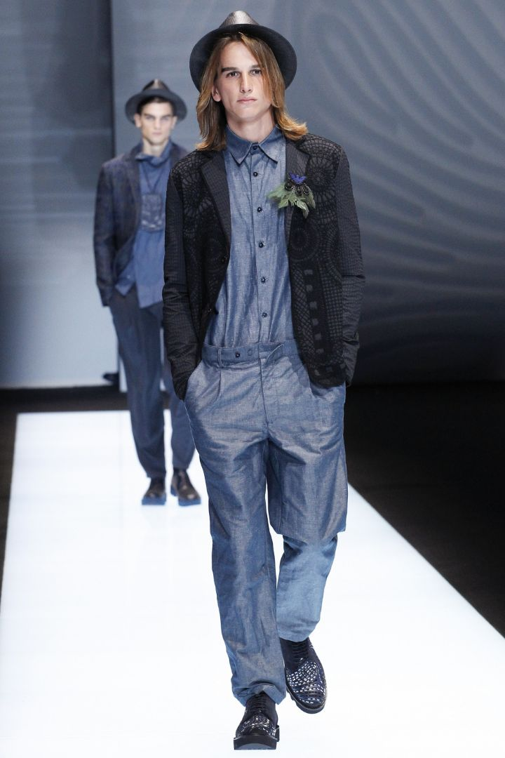 Emporio Armani Menswear SS 2017 Milan (13)
