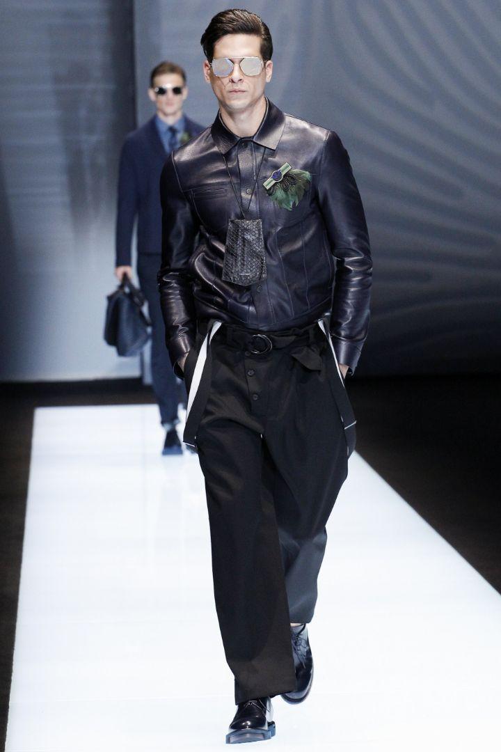 Emporio Armani Menswear SS 2017 Milan (16)