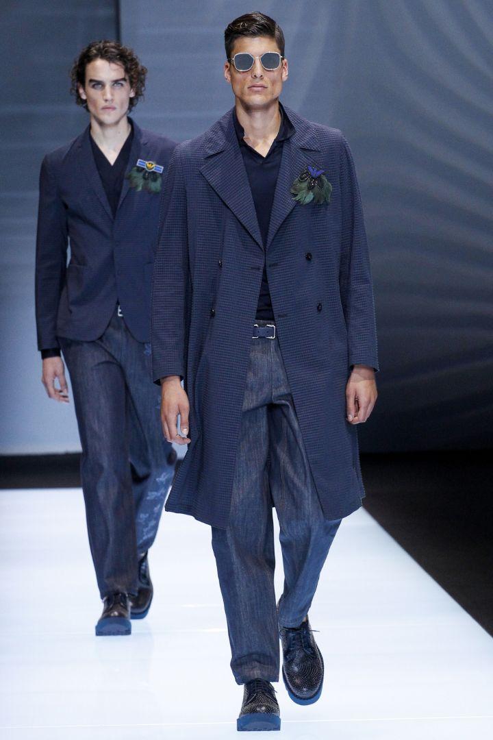 Emporio Armani Menswear SS 2017 Milan (2)