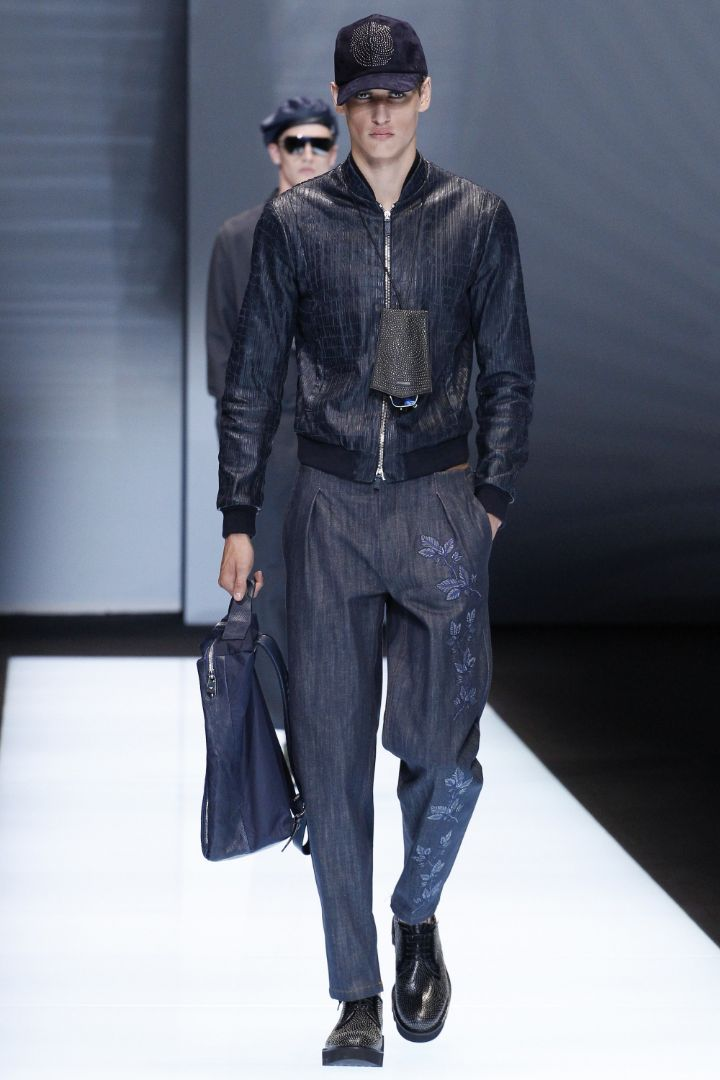 Emporio Armani Menswear SS 2017 Milan (20)
