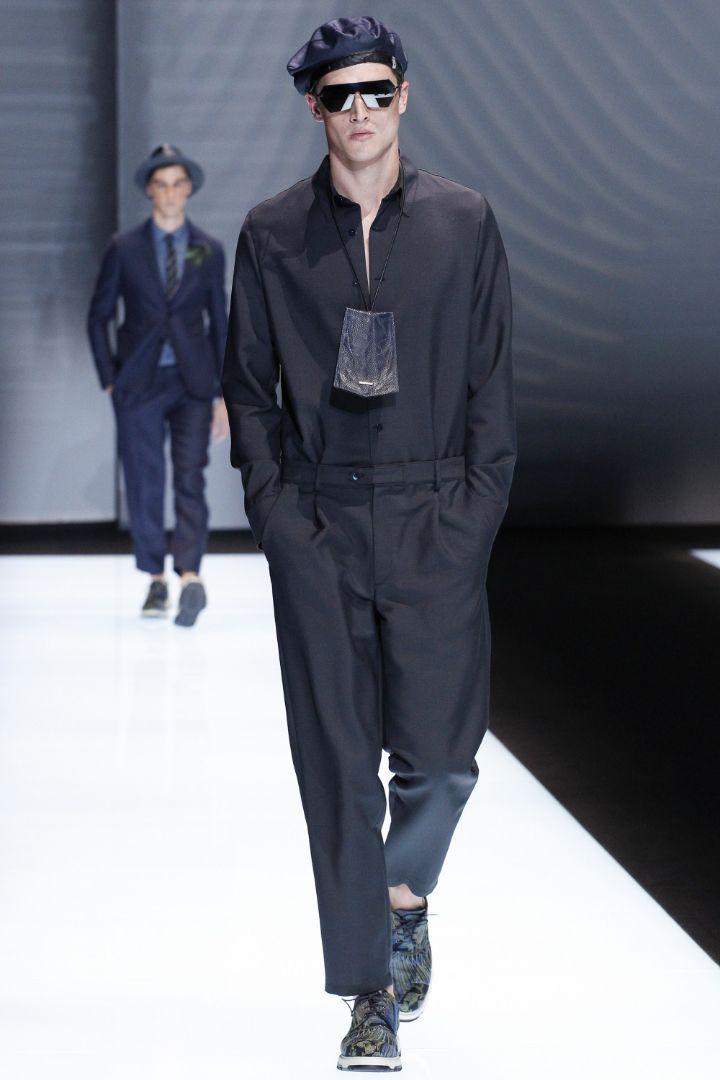 Emporio Armani Menswear SS 2017 Milan (21)