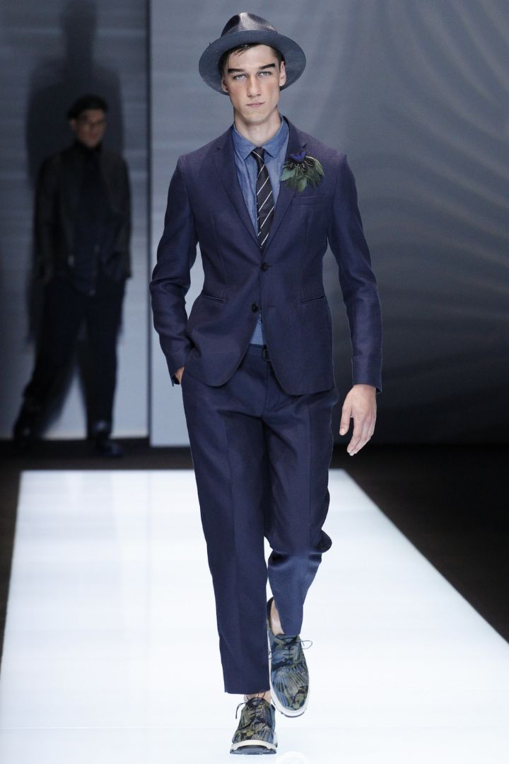 Emporio Armani Menswear SS 2017 Milan (22)
