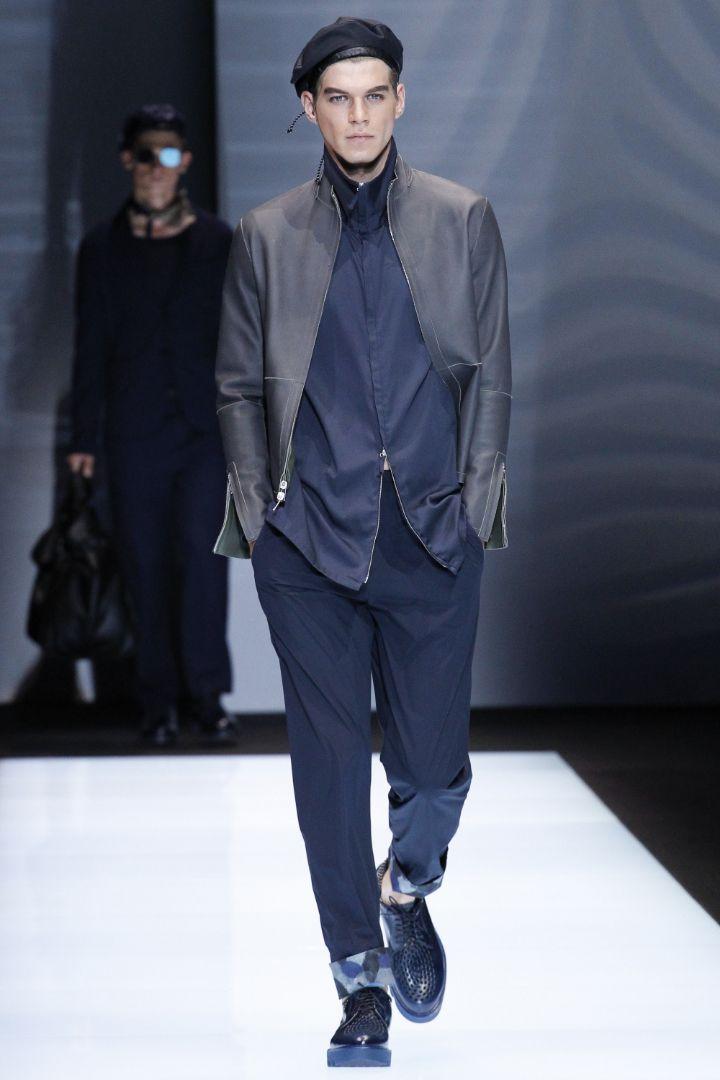Emporio Armani Menswear SS 2017 Milan (23)