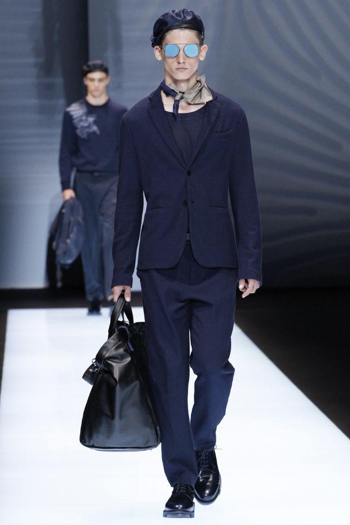 Emporio Armani Menswear SS 2017 Milan (24)