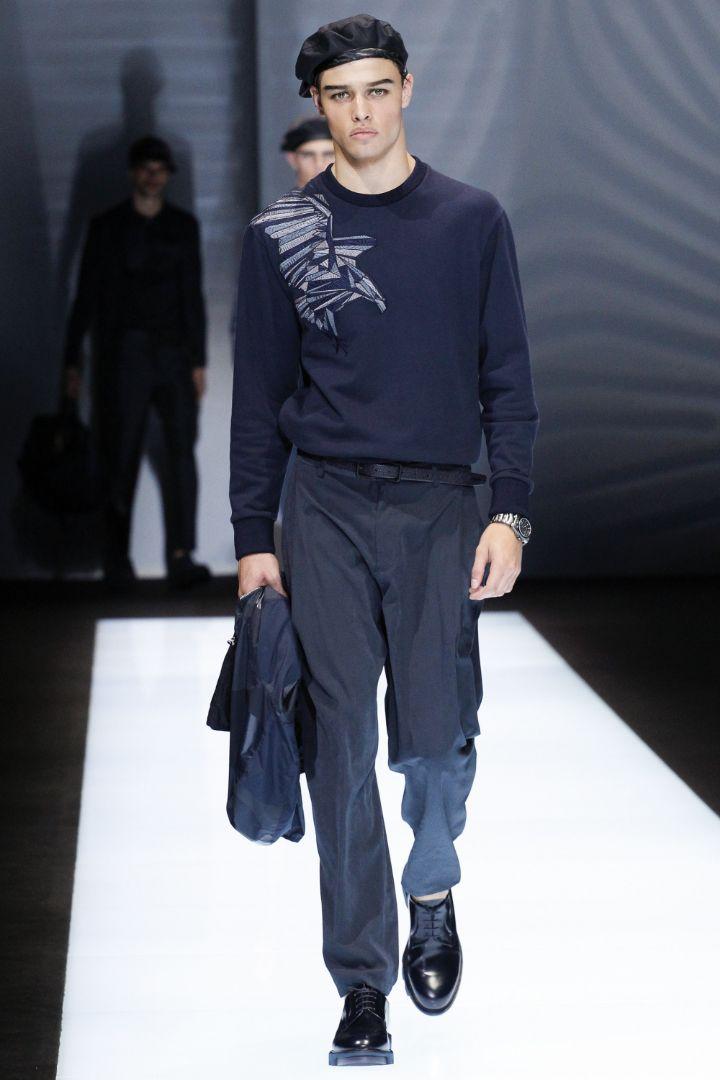 Emporio Armani Menswear SS 2017 Milan (25)