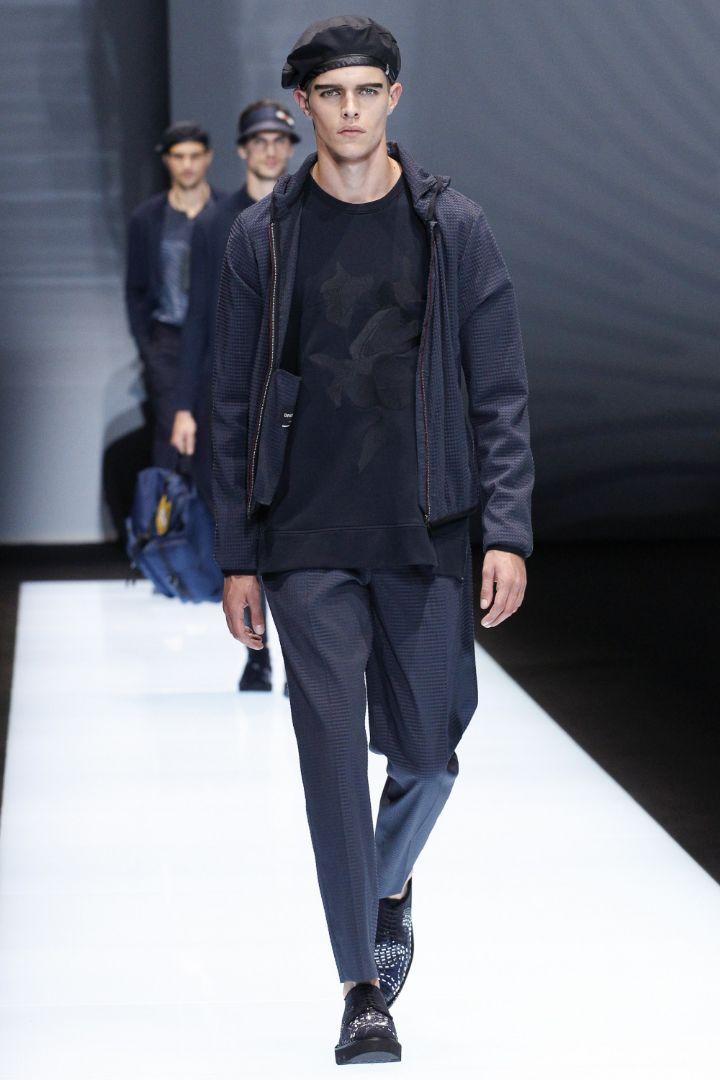 Emporio Armani Menswear SS 2017 Milan (26)