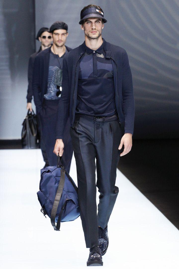 Emporio Armani Menswear SS 2017 Milan (27)
