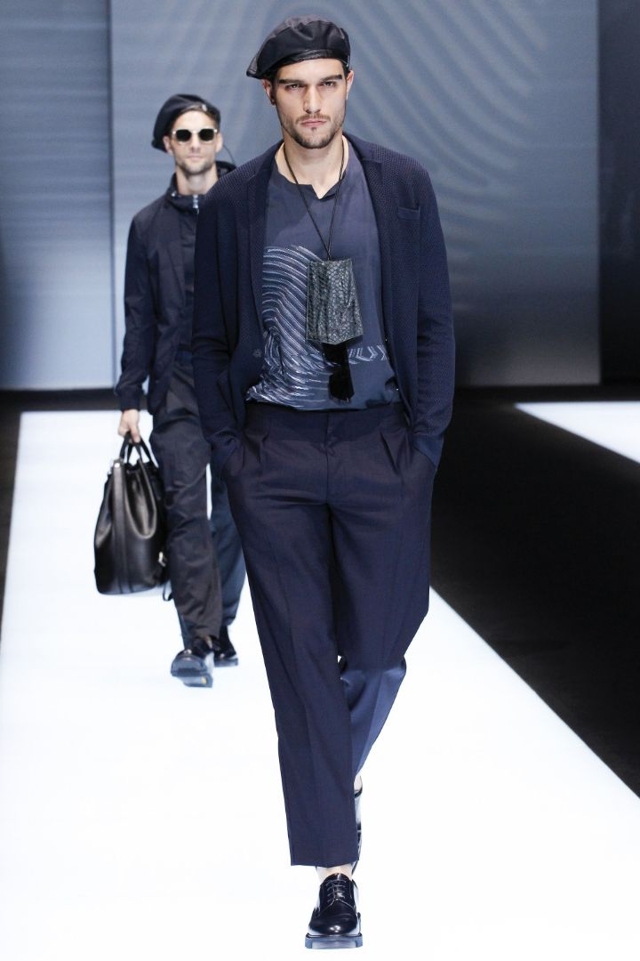 Emporio Armani Menswear SS 2017 Milan (28)