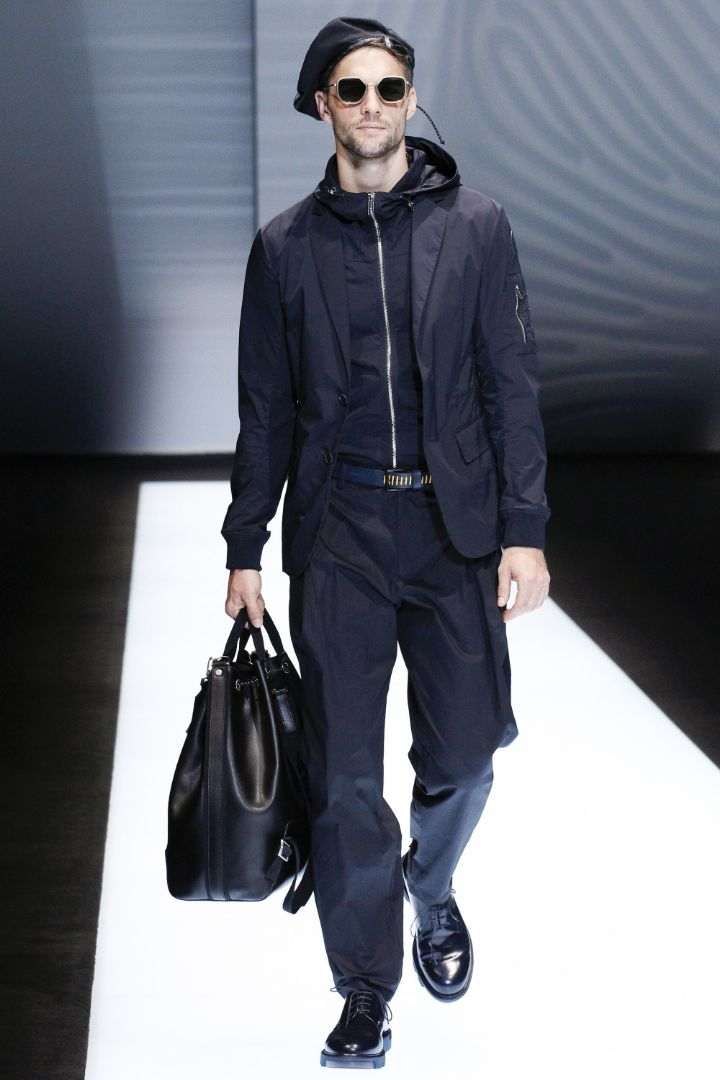 Emporio Armani Menswear SS 2017 Milan (29)