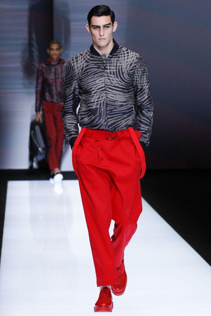 Emporio Armani Menswear SS 2017 Milan (30)