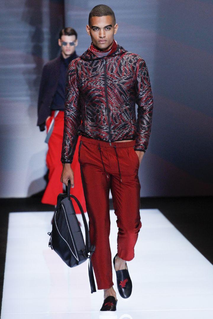 Emporio Armani Menswear SS 2017 Milan (31)