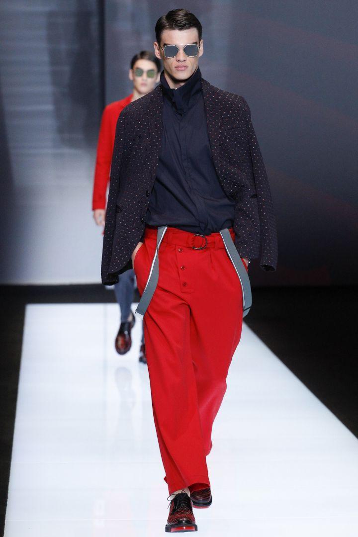 Emporio Armani Menswear SS 2017 Milan (32)