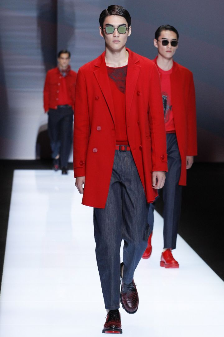 Emporio Armani Menswear SS 2017 Milan (33)