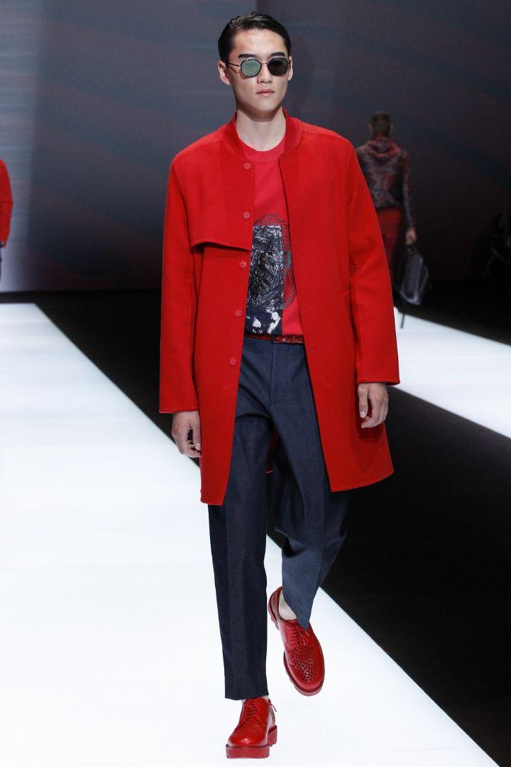 Emporio Armani Menswear SS 2017 Milan (34)