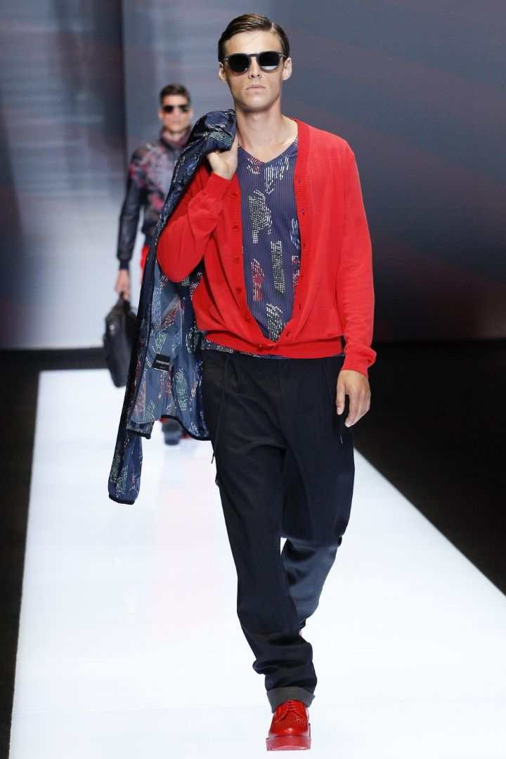 Emporio Armani Menswear SS 2017 Milan (36)