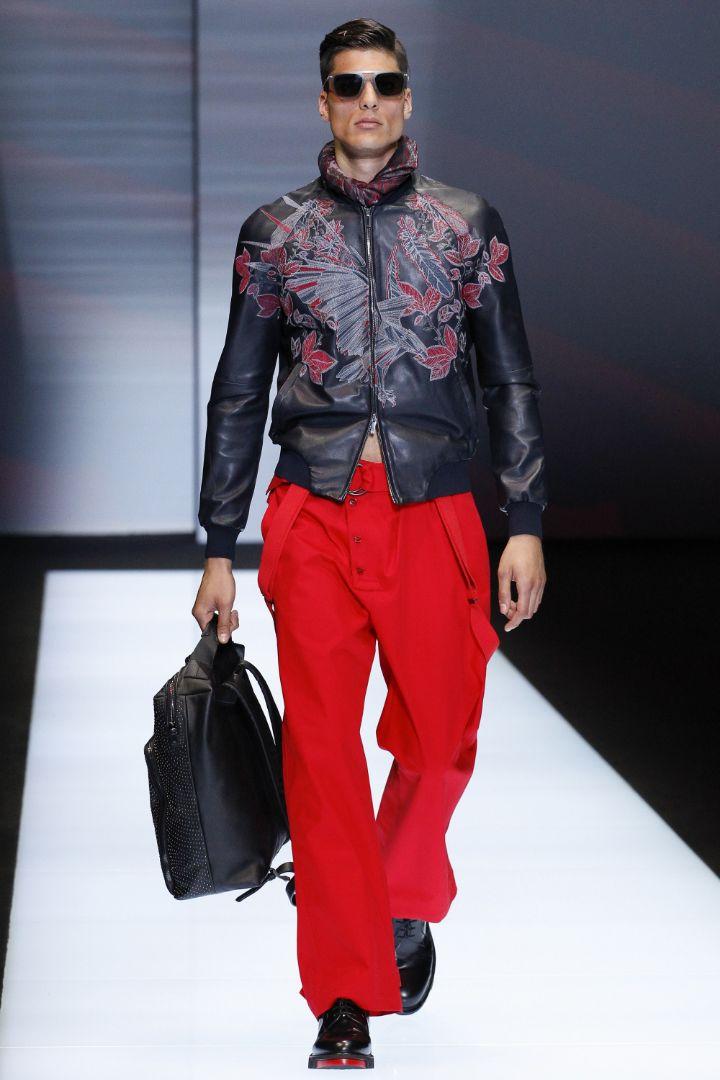 Emporio Armani Menswear SS 2017 Milan (37)