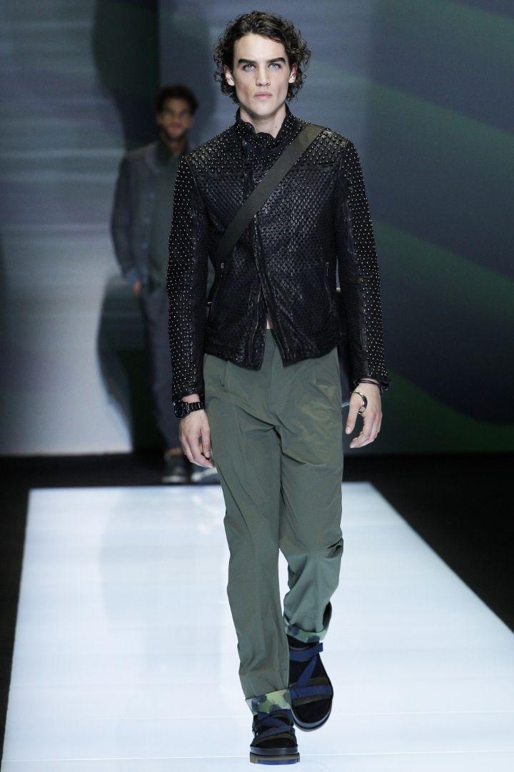 Emporio Armani Menswear SS 2017 Milan (40)