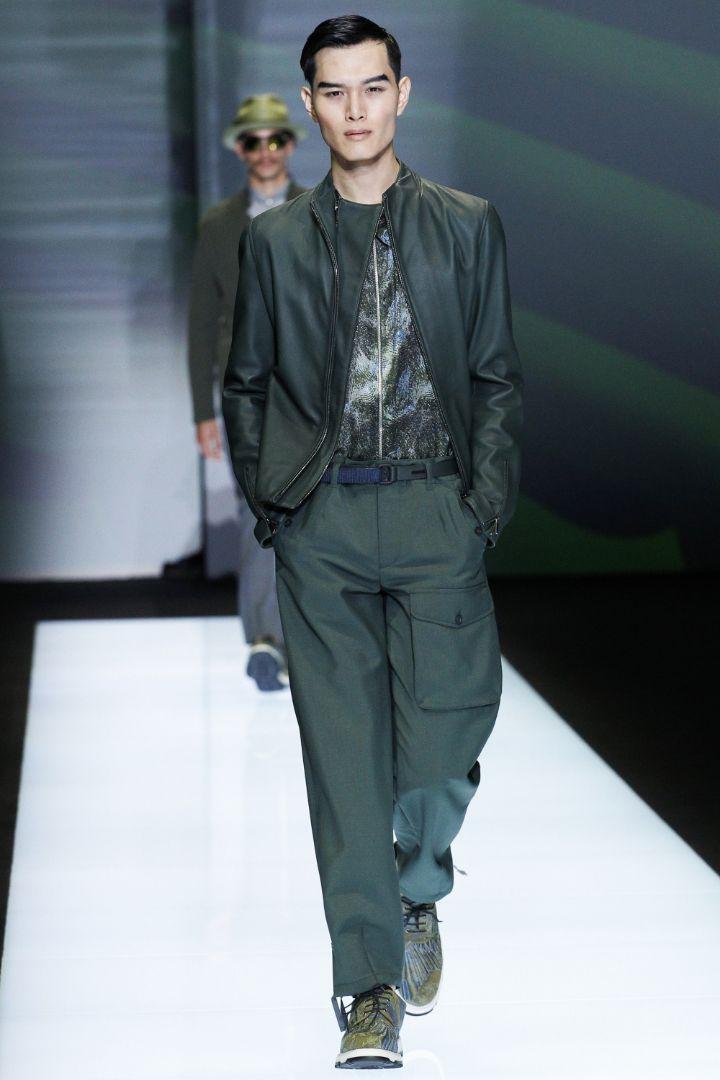 Emporio Armani Menswear SS 2017 Milan (42)