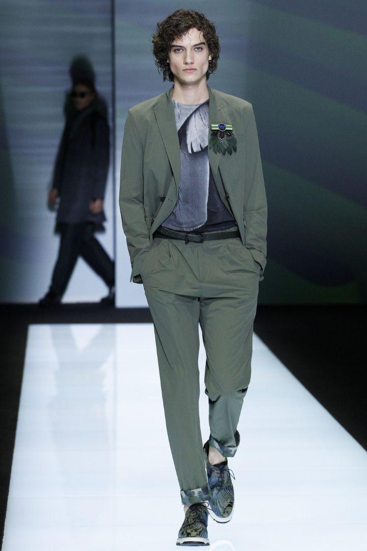 Emporio Armani Menswear SS 2017 Milan (45)