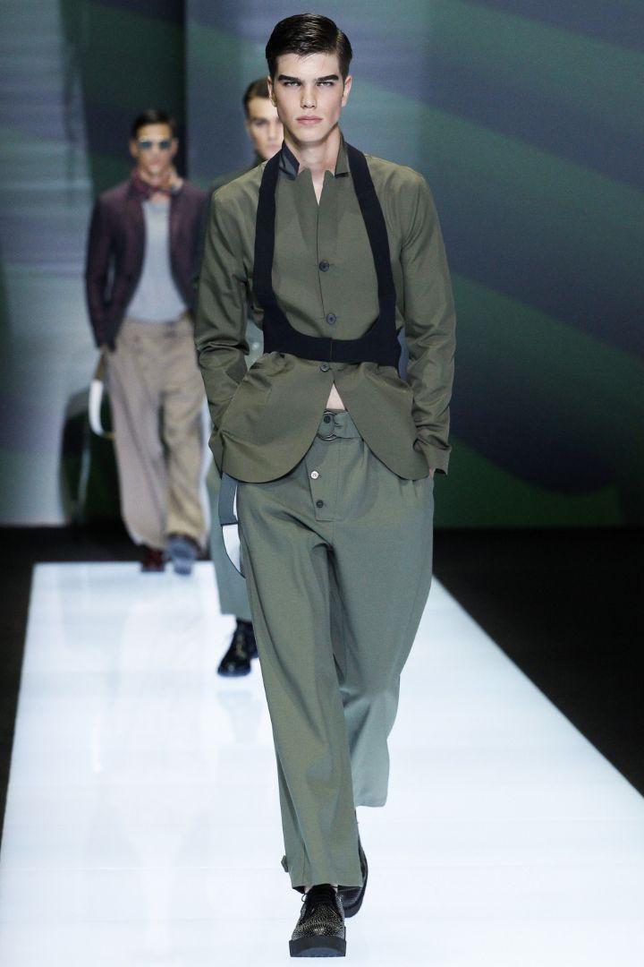 Emporio Armani Menswear SS 2017 Milan (47)