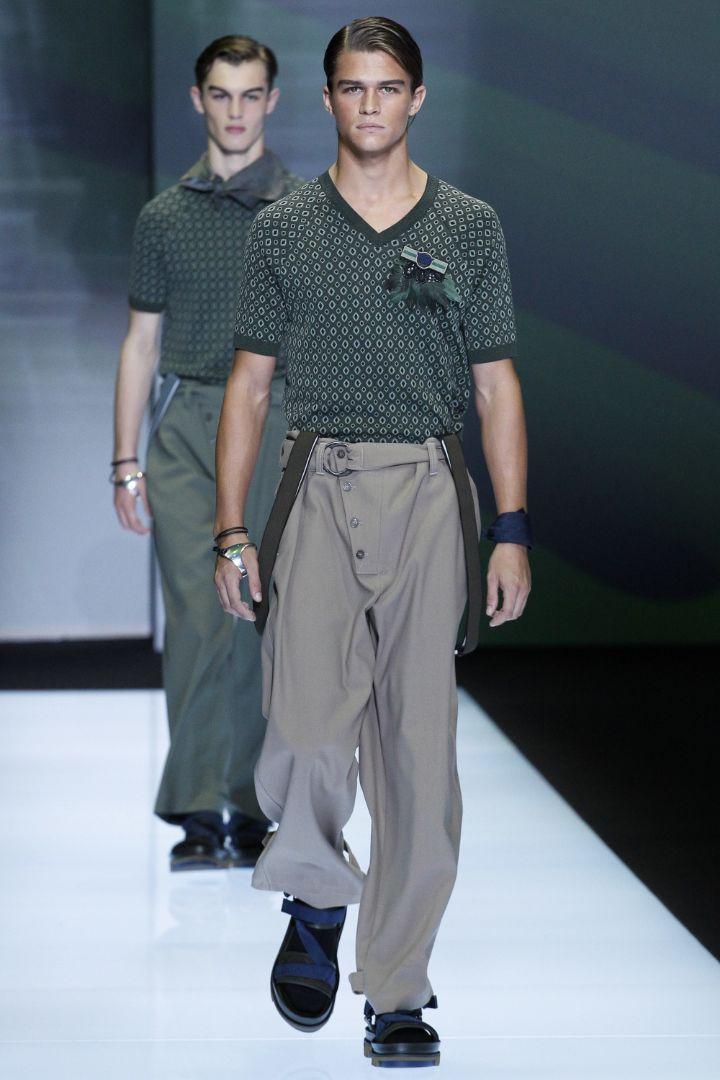 Emporio Armani Menswear SS 2017 Milan (50)