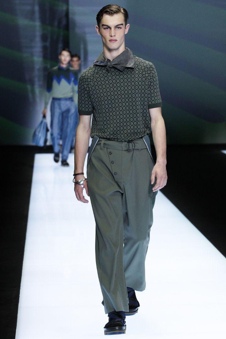 Emporio Armani Menswear SS 2017 Milan (51)