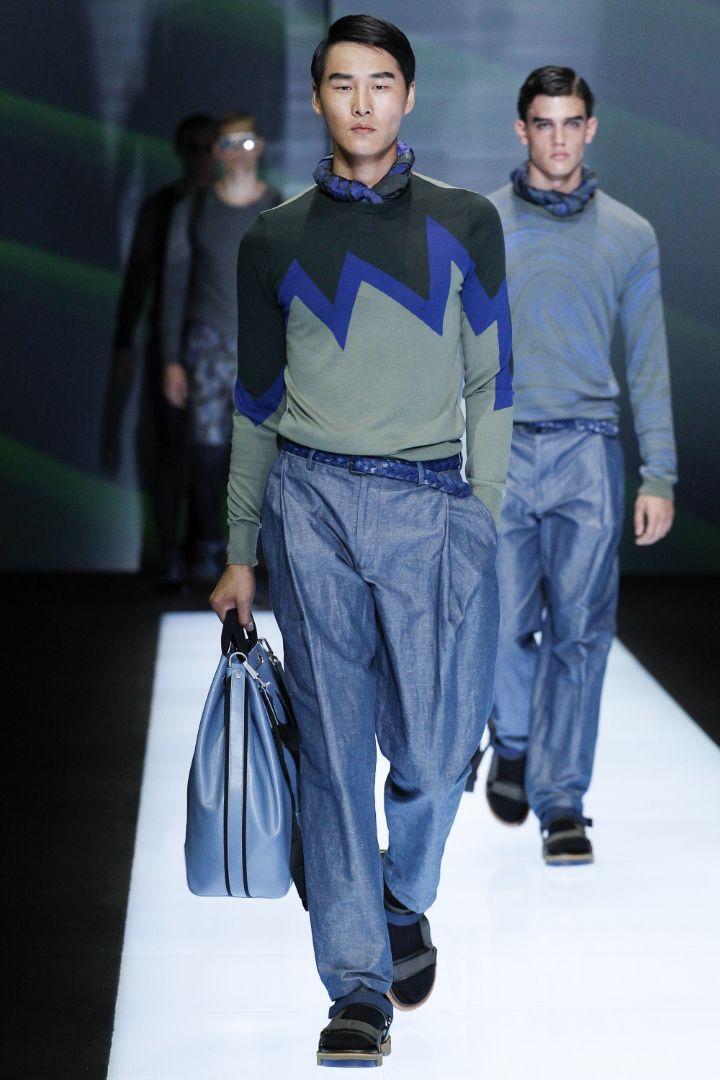 Emporio Armani Menswear SS 2017 Milan (52)