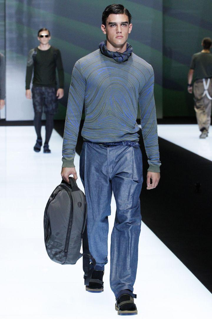 Emporio Armani Menswear SS 2017 Milan (53)