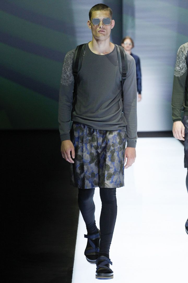 Emporio Armani Menswear SS 2017 Milan (54)