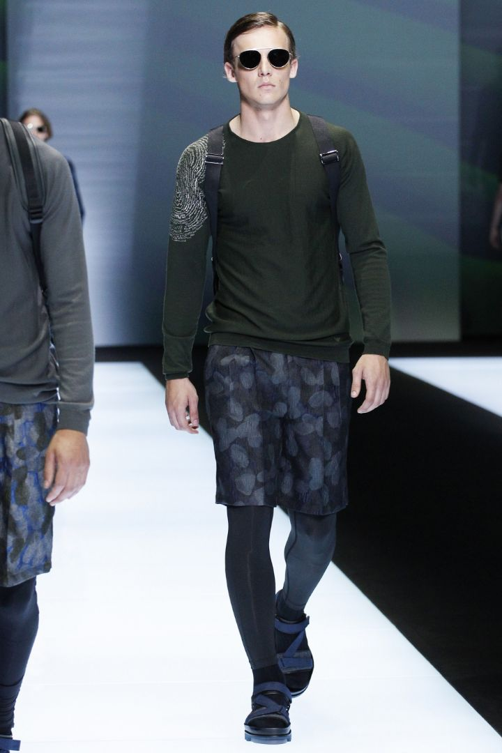 Emporio Armani Menswear SS 2017 Milan (55)