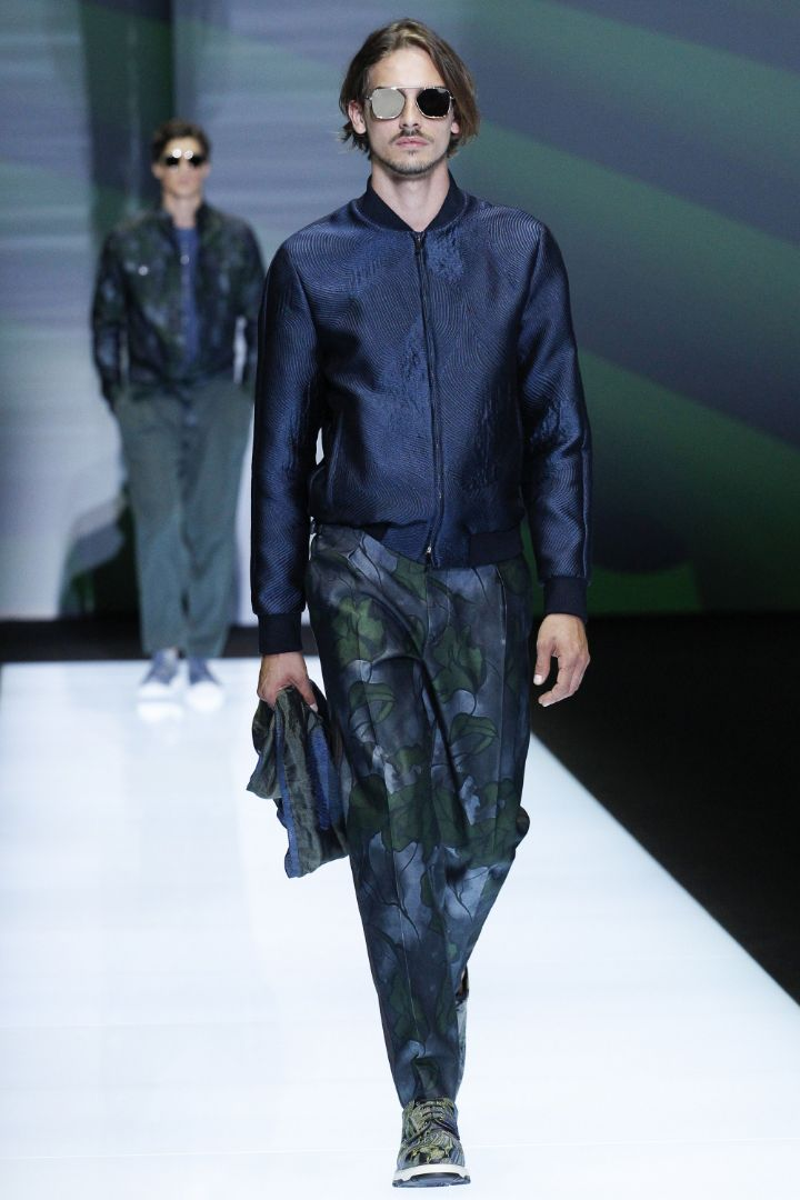 Emporio Armani Menswear SS 2017 Milan (56)