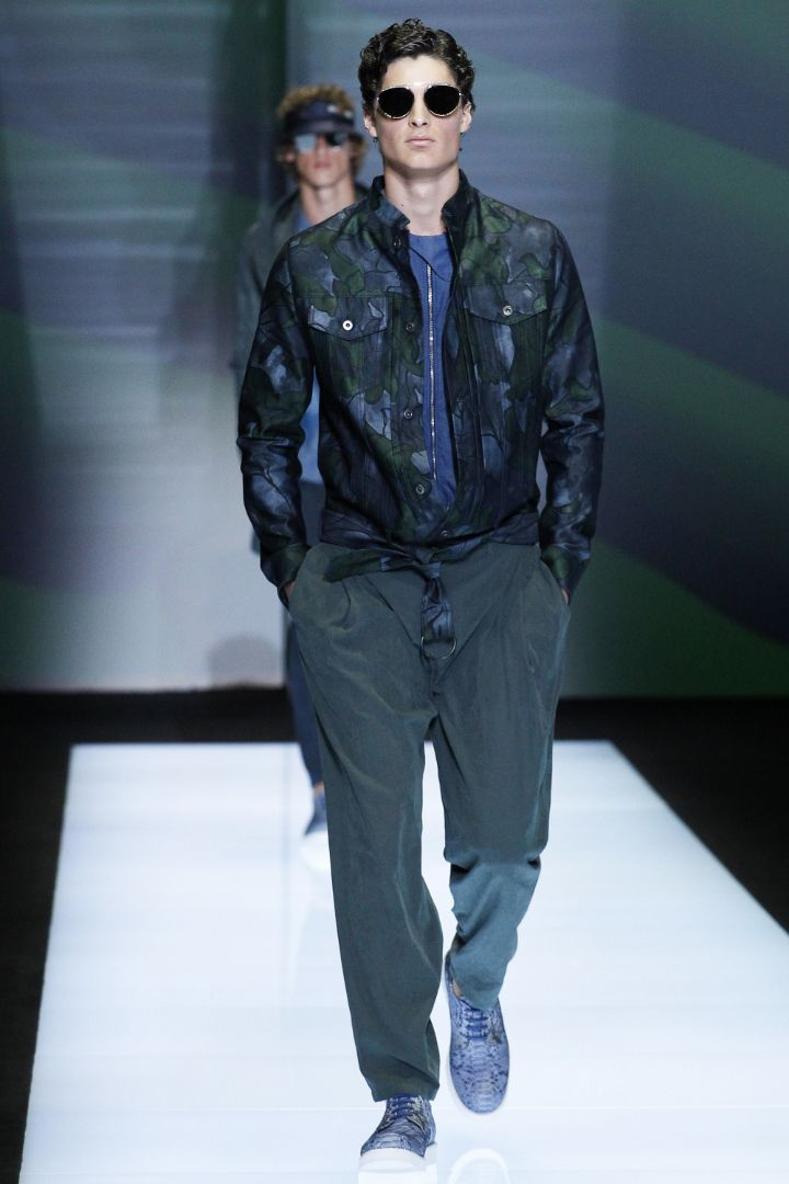 Emporio Armani Menswear SS 2017 Milan (57)