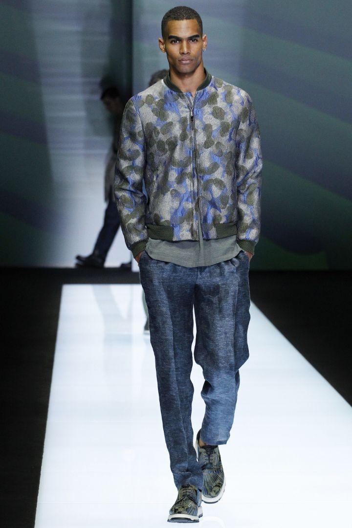 Emporio Armani Menswear SS 2017 Milan (59)