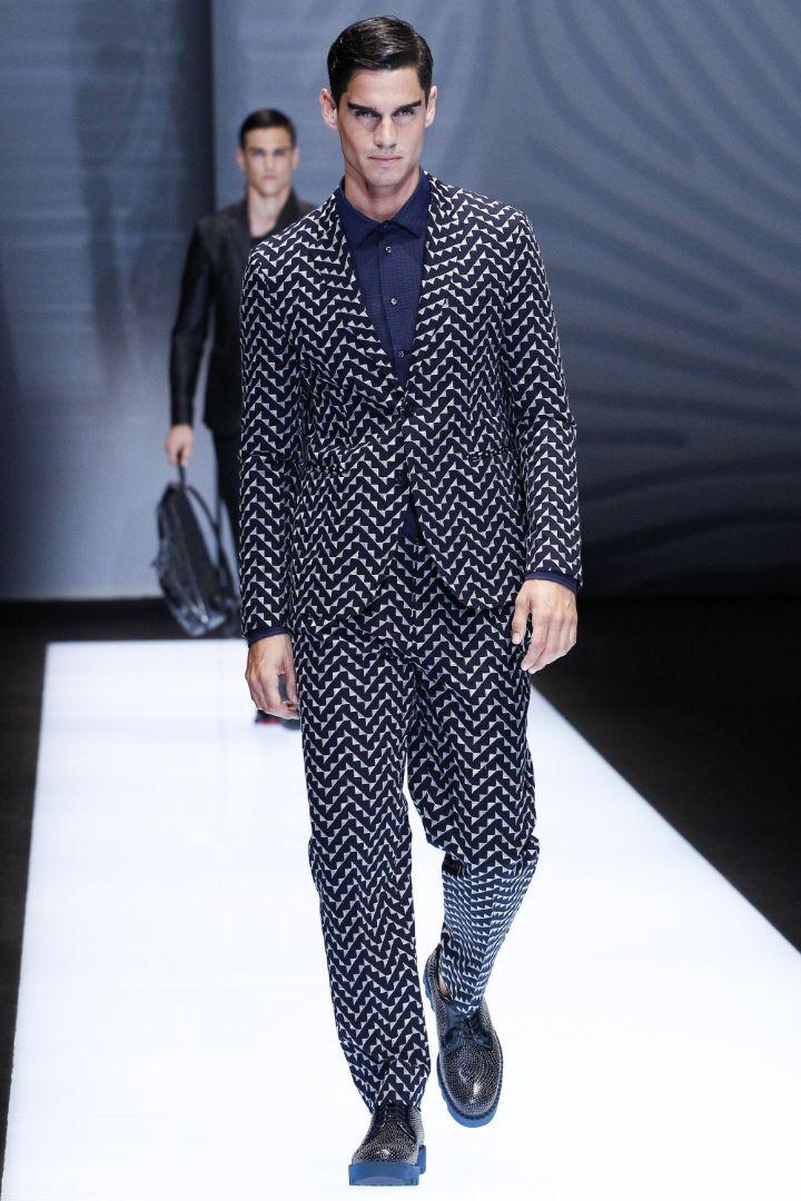 Emporio Armani Menswear SS 2017 Milan (6)