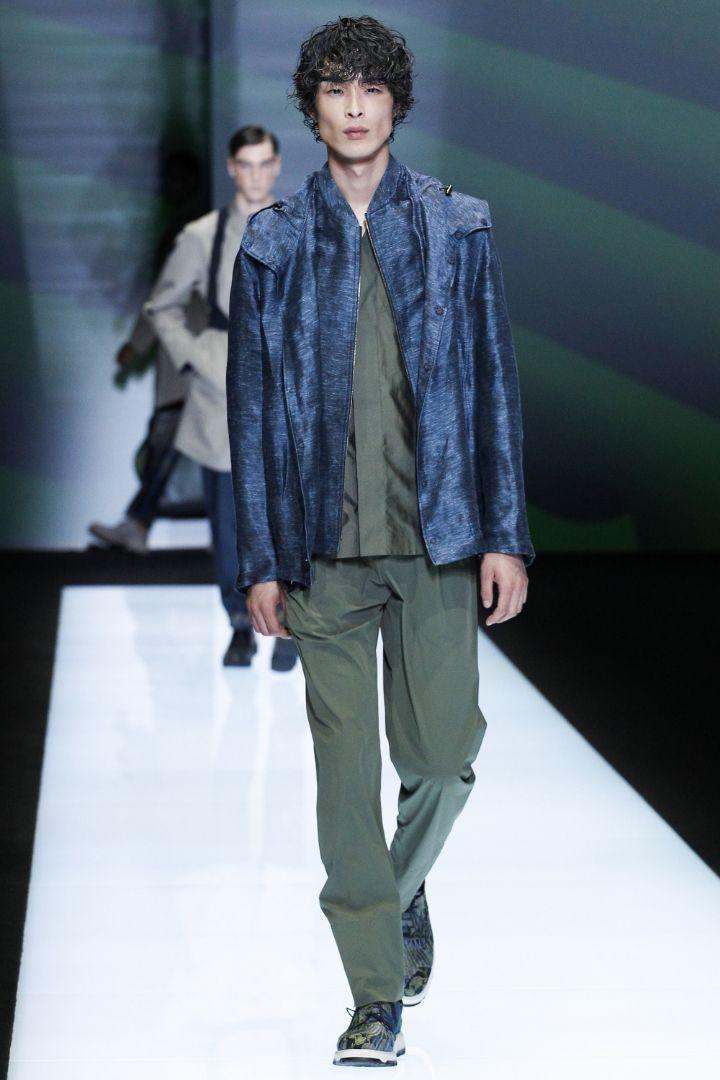 Emporio Armani Menswear SS 2017 Milan (60)