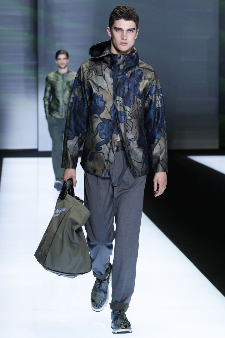 Emporio Armani Menswear SS 2017 Milan (63)