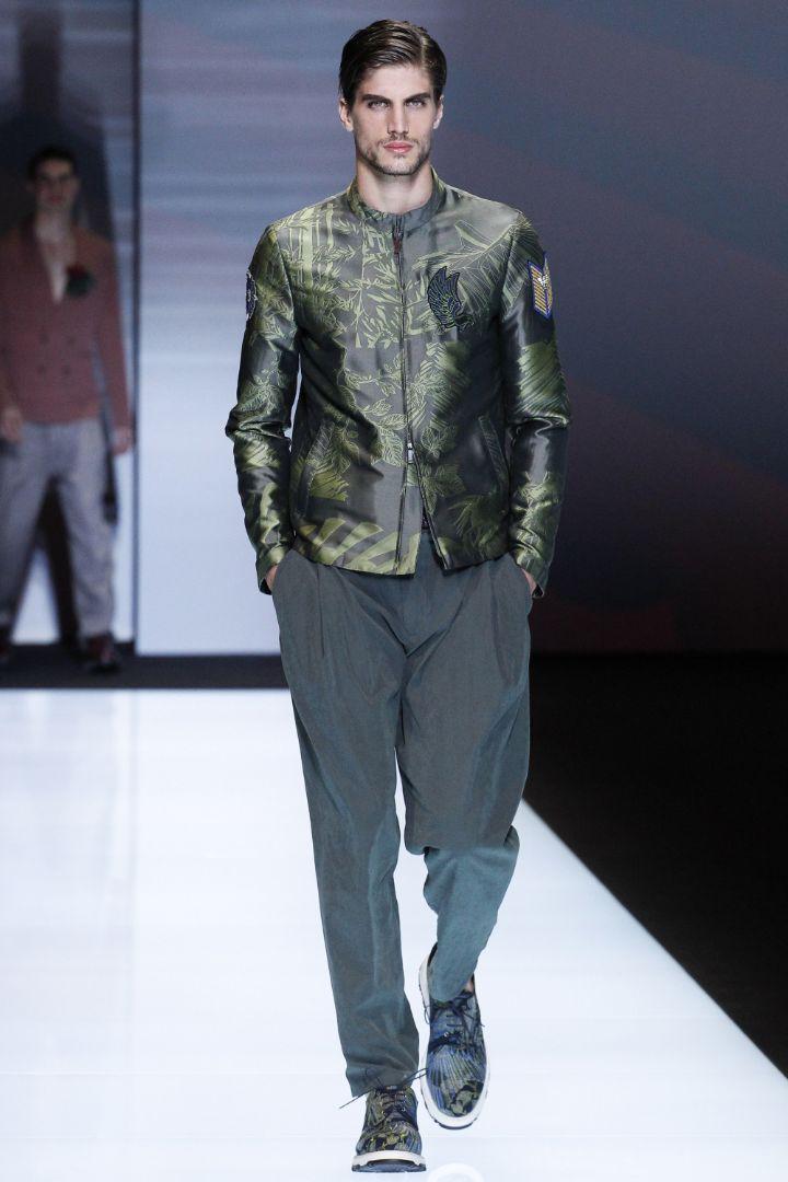 Emporio Armani Menswear SS 2017 Milan (64)