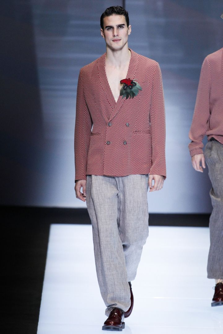 Emporio Armani Menswear SS 2017 Milan (65)